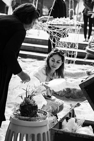 Casamento de Manuela e Carlos. Luai Cabanas,, Maresias - SP, 11/08/2018. Foto: Murillo Medina / Murillo Medina Fotografia.
