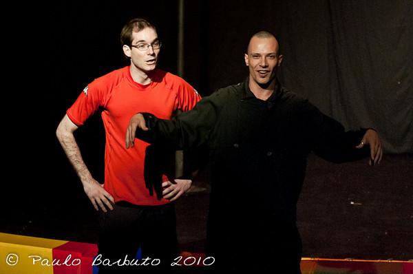 Cabare de Inverno, apresentação dos professores, Julho de 2010.