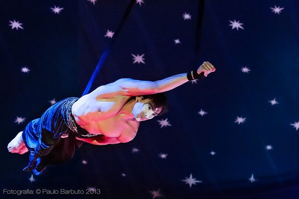 Daniel Wolf - Circo Spacial - Julho 2013