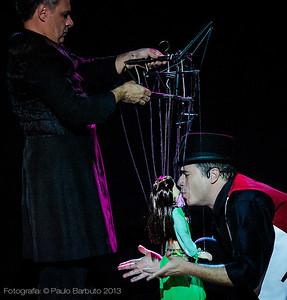 Virgilio Zago, Nayla  e Alejandro Muniz - Trixmix Cabaret - Maio 2013