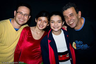 Prova pública do 2º estágio - Studio Beto Silveira, Julho de 2009.