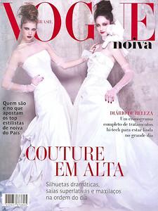 Capa (apenas para ilustração): Revista Vogue Noivas  - Especial Noivas N 18 - 2011 Evento: Casamento Fabiana Justus