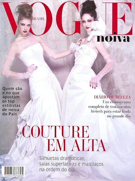 Capa (apenas para ilustração): Revista Vogue Noivas  - Especial Noivas N 18 - 2011<br /> Evento: Casamento Fabiana Justus