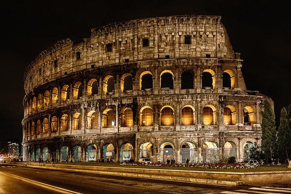 Coliseu - Roma - Janeiro 2013