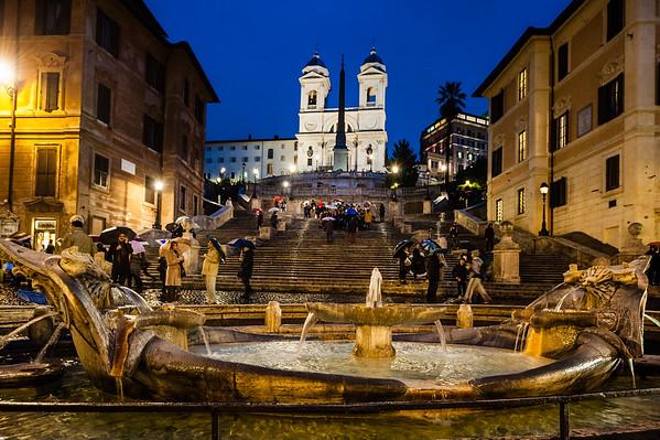 Piazza di Spagna - Roma - Janeiro 2013