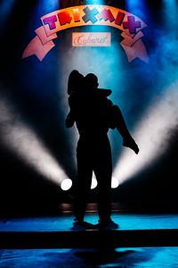 Andrei Parmezan e Leticia Castiglia - Trixmix Cabaret - Julho 2012