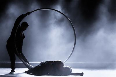 Duo Roue Cyr - Mélanie Nunes e  Cesar Andrade no Trixmix Cabaret
