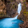 Lower Falls in Johnston Canyon - Banff National Park, Canada