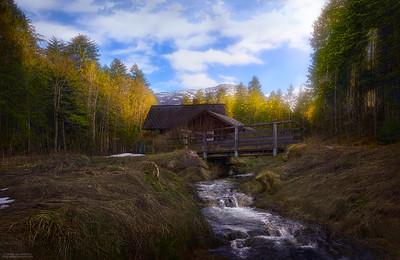 Cabaña en Austria