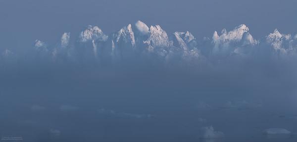 Montaña de hielo