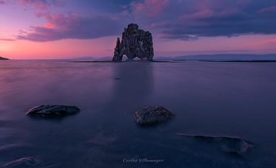 Hvitserkur-Islandia