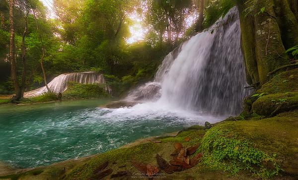 Dos cascadas