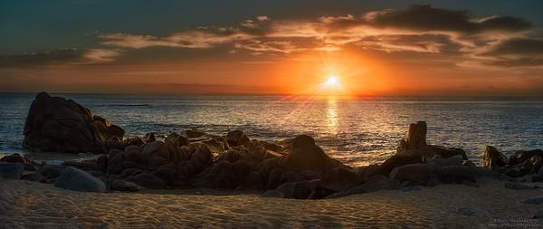 Panorámica Amanecer en Los Cabos