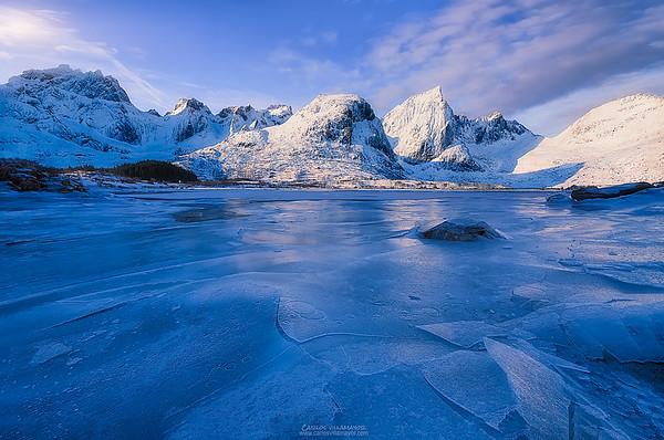 Hojas de hielo