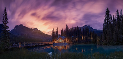 AMANECER EN EMERALD LAKE