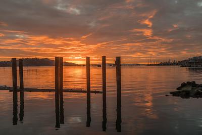 Winter Dawn Reflections