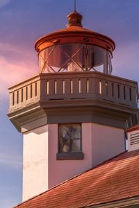 Lime Kiln Point Lighthouse at Sunset