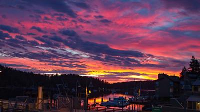 Friday Harbor Sunrise