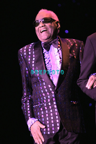 ATLANTIC CITY- JULY 4, 2003, Ray Charles appeared in The Superstar Theater in Resorts Casino Hotel for the holiday weekend and was greeted with a standing ovation by the sold out room the minute he came out on stage. Charles, age 73, died on June 10th  of complications from liver disease at his home in Beverly Hills.