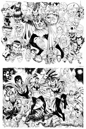 GALLERIES of COMIC BOOK ARTISTS