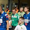 26.09.2010 - Belchatow , Pilka nozna - Ekstraklasa , PGE GKS Belchatow (zielone) - Ruch Chorzow (niebieskie). Fot. Mariusz Palczynski / MPAimages.com