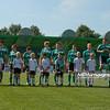 21.08.2010 - Belchatow , Pilka nozna - Ekstraklasa , PGE GKS Belchatow (zielone) - Ruch Chorzow (niebieskie). Fot. Mariusz Palczynski / MPAimages.com
