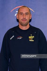 26.10.2010 - Belchatow , Siatkowka - PlusLiga , Sklad druzyny PGE SKRA Belchatow N/Z II Trener Maciej Bartodziejski Fot. Mariusz Palczynski / MPAimages.com