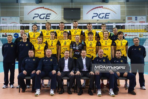 26.10.2010 - Belchatow , Siatkowka - PlusLiga , Sklad druzyny PGE SKRA Belchatow N/Z Druzyna PGE SKRA Belchatow Fot. Mariusz Palczynski / MPAimages.com