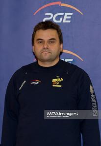 26.10.2010 - Belchatow , Siatkowka - PlusLiga , Sklad druzyny PGE SKRA Belchatow N/Z Lekarz Wojciech Lucarz Fot. Mariusz Palczynski / MPAimages.com