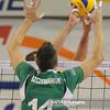 01.12.2010 - Belchatow , Siatkowka - PlusLiga , PGE SKRA Belchatow (zolte) - Fart Kielce (zielone). N/Z Robert Szczerbaniuk Fot. Mariusz Palczynski / MPAimages.com