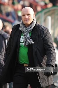 20.03.2011 - Belchatow , Pilka nozna - Ekstraklasa ,  PGE GKS Belchatow (zielone) - Legia Warszawa (biale) N/Z Trener Maciej Bartoszek Fot. Mariusz Palczynski / MPAimages.com