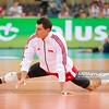 27.05.2011 - Lodz , Atlas Arena , Siatkowka, Liga Swiatowa 2011 ,  Polska (biale) - USA (granatowe) N/Z Zbigniew Bartman Fot. Mariusz Palczynski / MPAimages.com