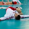 27.05.2011 - Lodz , Atlas Arena , Siatkowka, Liga Swiatowa 2011 ,  Polska (biale) - USA (granatowe) N/Z Marcin Mozdzonek Fot. Mariusz Palczynski / MPAimages.com