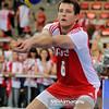 28.05.2011 - Lodz , Atlas Arena , Siatkowka , Liga Swiatowa 2011 ,  Polska (czerwone) - USA (biale) N/Z Bartosz Kurek Fot. Mariusz Palczynski / MPAimages.com
