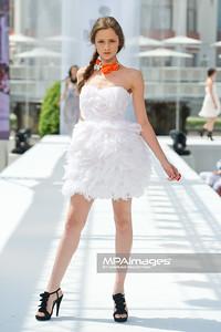 12.06.2011 - Sopot , Molo , Sopot Fashion Days N/Z Kolekcja Milita Nikonorov Fot. Mariusz Palczynski / MPAimages.com