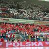 25.06.2011 - Plock , Orlen Arena , Siatkowka , Liga Swiatowa 2011 , FIVB World League ,  Polska (czerwone) - Portoryko (biale) N/Z Kibice Fot. Mariusz Palczynski / MPAimages.com