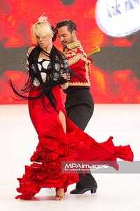26.06.2011 - Warszawa , Warsaw Fashion Street N/Z Perwoll pokaz kolekcji konkursowej , Stefano terrazzino i Paulina Biernat Fot. Mariusz Palczynski / MPAimages.com