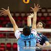06.07.2011 - Gdansk , ERGO Arena , Siatkowka mezczyzn (Volleyball men's) , Finaly Ligi Swiatowej 2011 , FIVB World League Final 2011 ,  Argentyna (bialo-niebieskie) - Wlochy (granatowe) N/Z Sole ,, Birarelli Fot. Mariusz Palczynski / MPAimages.com