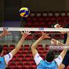 06.07.2011 - Gdansk , ERGO Arena , Siatkowka mezczyzn (Volleyball men's) , Finaly Ligi Swiatowej 2011 , FIVB World League Final 2011 ,  Argentyna (bialo-niebieskie) - Wlochy (granatowe) N/Z Conte , Sole Fot. Mariusz Palczynski / MPAimages.com