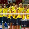 06.07.2011 - Gdansk , ERGO Arena , Siatkowka mezczyzn (Volleyball men's) , Finaly Ligi Swiatowej 2011 , FIVB World League Final 2011 ,  Brazylia (zolte - Kuba (czerwone) N/Z Reprezentacja Brazylii Fot. Mariusz Palczynski / MPAimages.com