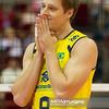 06.07.2011 - Gdansk , ERGO Arena , Siatkowka mezczyzn (Volleyball men's) , Finaly Ligi Swiatowej 2011 , FIVB World League Final 2011 ,  Brazylia (zolte - Kuba (czerwone) N/Z Murilo Endres Fot. Mariusz Palczynski / MPAimages.com