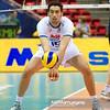 07.07.2011 - Gdansk , ERGO Arena , Siatkowka mezczyzn (Volleyball men's) , Finaly Ligi Swiatowej 2011 , FIVB World League Final 2011 ,  Wlochy (biale) - Bulgaria (czarne)  N/Z Emanuele Birarelli Fot. Mariusz Palczynski / MPAimages.com