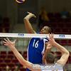 08.07.2011 - Gdansk , ERGO Arena , Siatkowka mezczyzn (Volleyball men's) , Finaly Ligi Swiatowej 2011 , FIVB World League Final 2011 ,  USA (biale) - Kuba (granatowe)  N/Z Mesa , David Lee Fot. Mariusz Palczynski / MPAimages.com