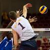 08.07.2011 - Gdansk , ERGO Arena , Siatkowka mezczyzn (Volleyball men's) , Finaly Ligi Swiatowej 2011 , FIVB World League Final 2011 ,  USA (biale) - Kuba (granatowe)  N/Z Camejo , Matthew Anderson Fot. Mariusz Palczynski / MPAimages.com