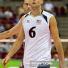 08.07.2011 - Gdansk , ERGO Arena , Siatkowka mezczyzn (Volleyball men's) , Finaly Ligi Swiatowej 2011 , FIVB World League Final 2011 ,  USA (biale) - Kuba (granatowe)  N/Z Paul Lotman Fot. Mariusz Palczynski / MPAimages.com