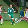 29.08.2011 - Belchatow , pilka nozna , T-Mobile Ekstraklasa , LKS Lodz (bialo-czerwone) - Legia Warszawa (zielone)  N/Z  Janusz Gol , Tomasz Nowak  Fot. Mariusz Palczynski / MPAimages.com