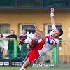 29.08.2011 - Belchatow , pilka nozna , T-Mobile Ekstraklasa , LKS Lodz (bialo-czerwone) - Legia Warszawa (zielone)  N/Z  Marcin Mieciel Fot. Mariusz Palczynski / MPAimages.com