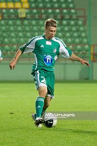 29.08.2011 - Belchatow , pilka nozna , T-Mobile Ekstraklasa , LKS Lodz (bialo-czerwone) - Legia Warszawa (zielone)  N/Z  Jakub Kosecki  Fot. Mariusz Palczynski / MPAimages.com