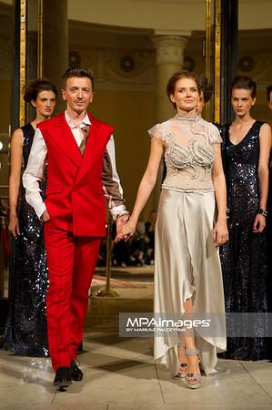 27.09.2011 - Warszawa , Palac Kultury i Nauki , PLICH Fashion Show N/Z Plich i Urszula Grabowska Fot. Mariusz Palczynski / MPAimages.com
