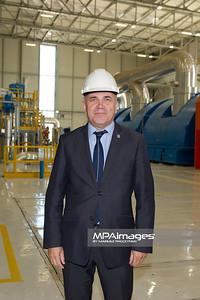 28.09.2011 - Belchatow , Otwarcie nowego bloku 858 MW PGE GiEK SA Oddzial Elektrownia Belchatow N/Z Prezydent Marek Chrzanowski  Fot. Mariusz Palczynski / MPAimages.com